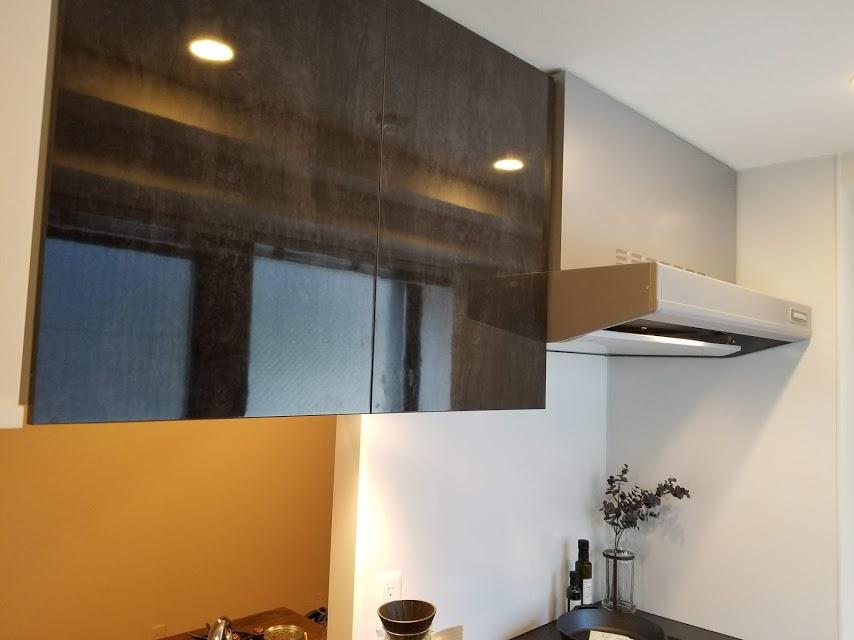 換気扇と収納スペース