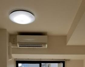 照明とエアコン