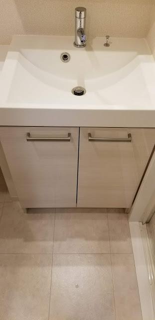 洗面所下収納スペース
