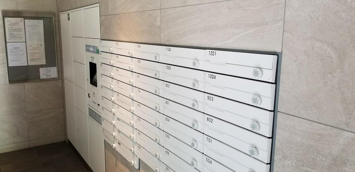宅配ボックスとメールボックス