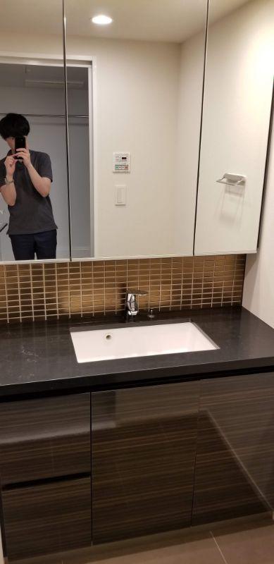 ザ・パークハビオ 目黒 洗面台