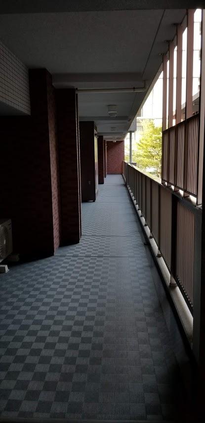 シティテラス東陽町の廊下