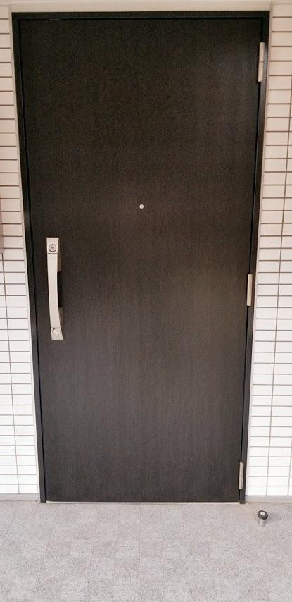 シティテラス東陽町の玄関ドア