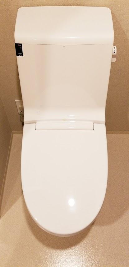 シティテラス東陽町のシャワー付きトイレ