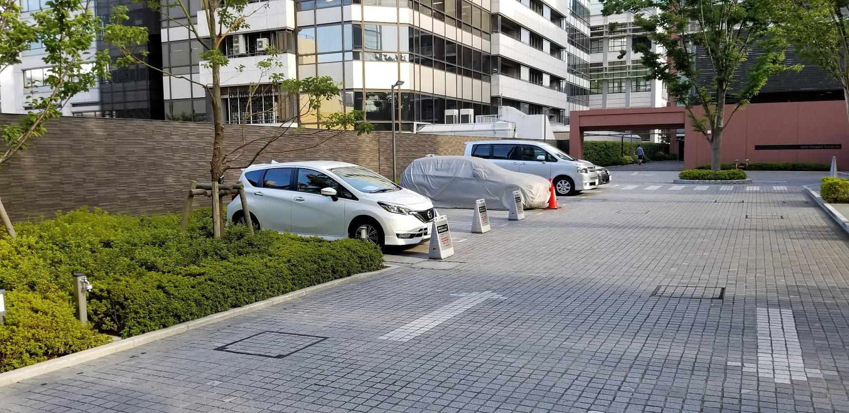 シティテラス東陽町の平置き駐車場