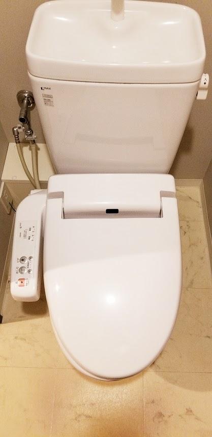 クレストフォルム日本橋水天宮のトイレ