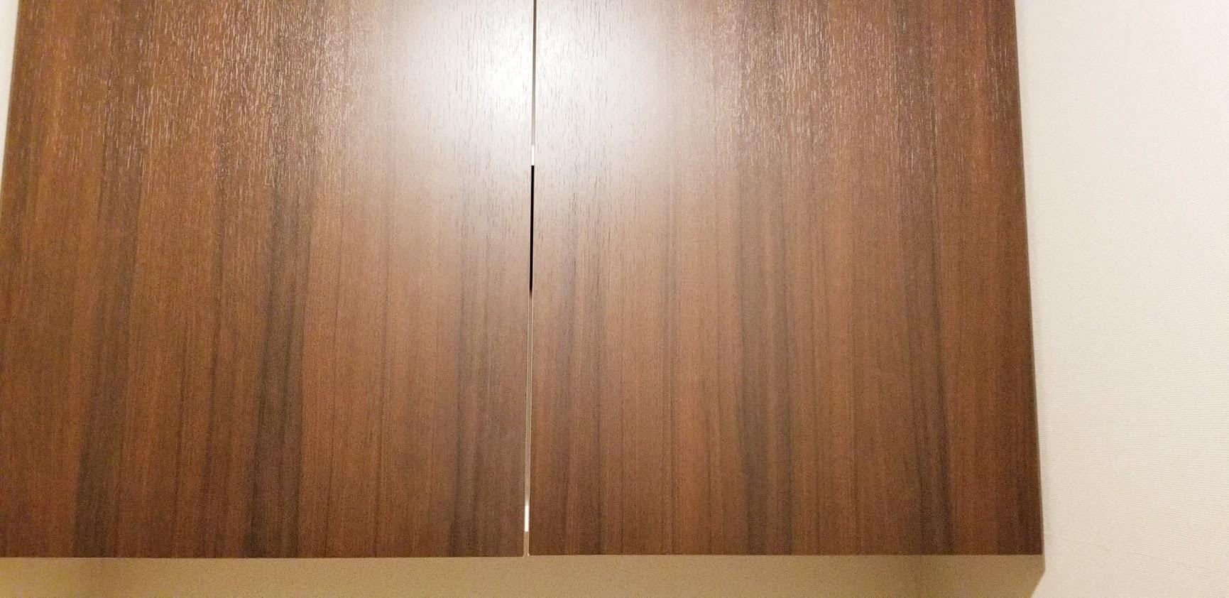 クレストフォルム日本橋水天宮のトイレの便座上の収納