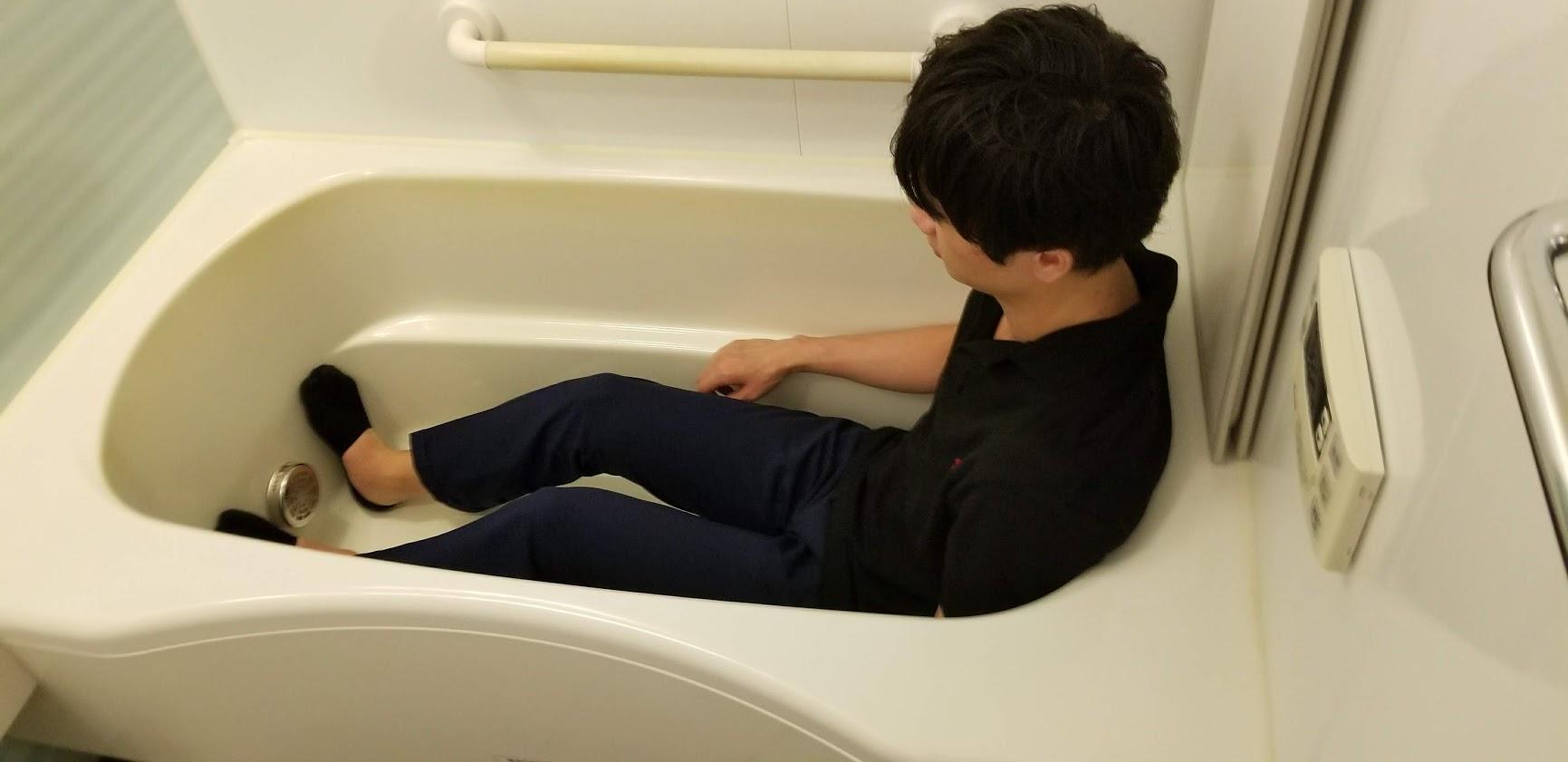 クレストフォルム日本橋水天宮の浴槽