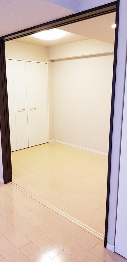 クレストフォルム日本橋水天宮の4.5帖の寝室