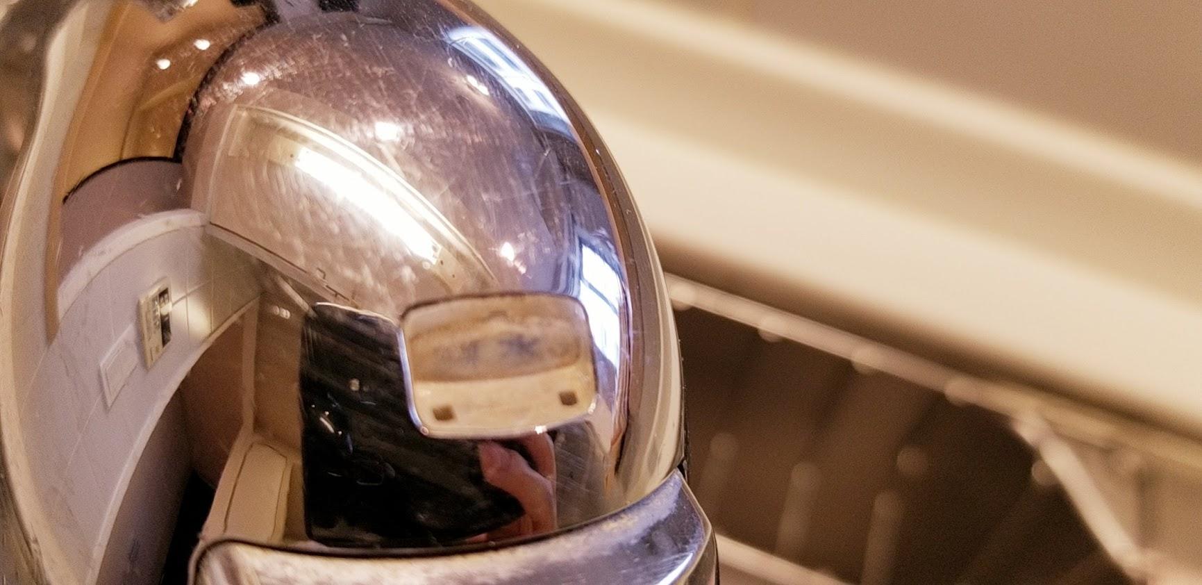 クレストフォルム日本橋水天宮のキッチンのシンクの浄水器
