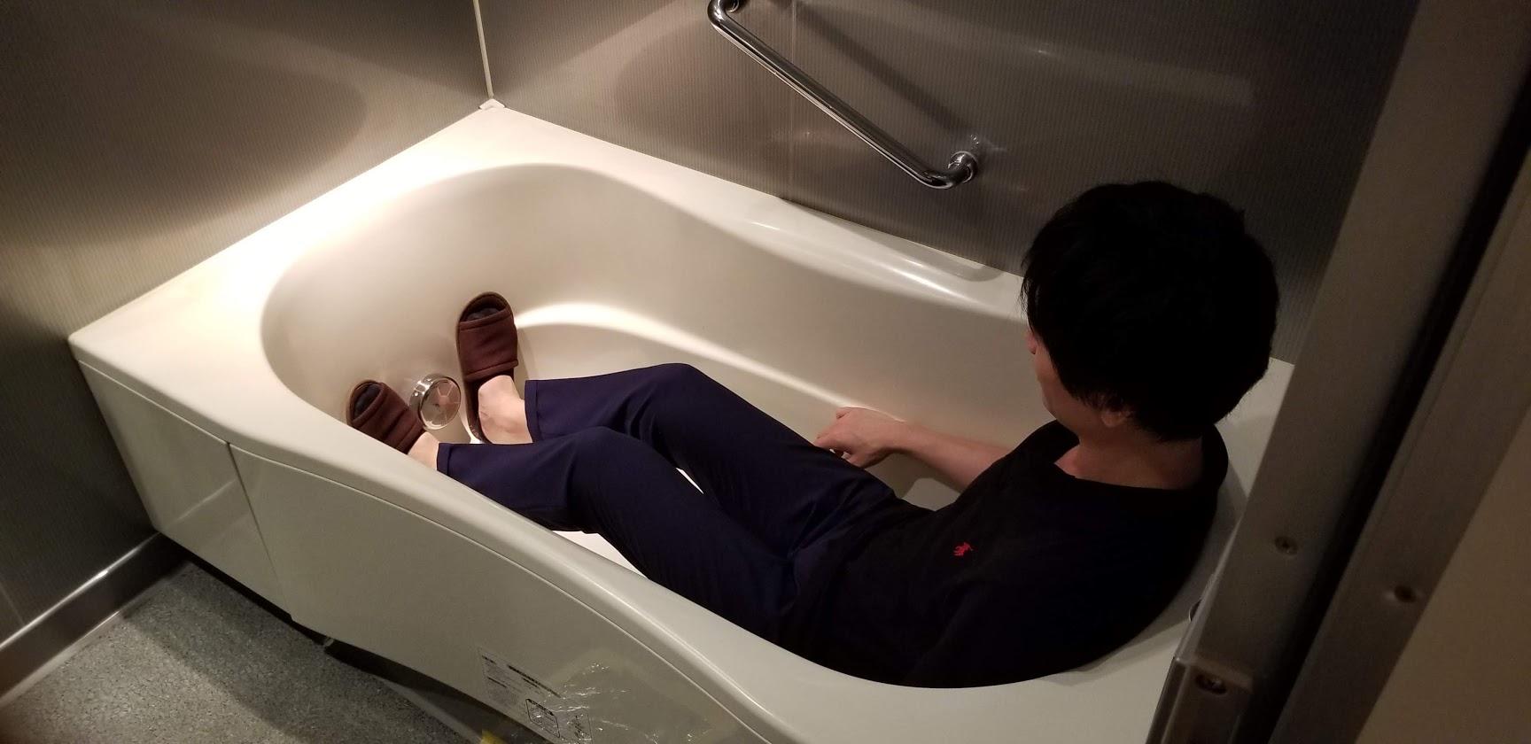 ドゥーエ日本橋のお風呂場