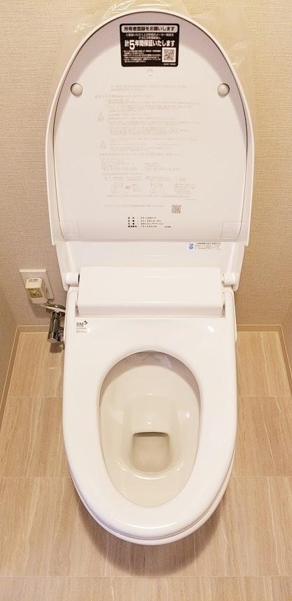 陽町ステーションプレミアのトイレ