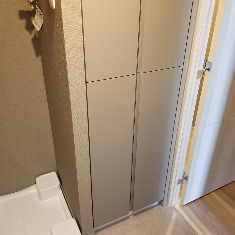 洗面所収納スペース