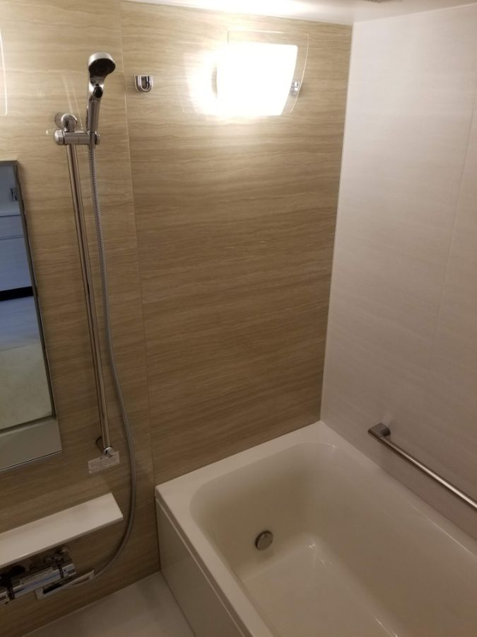パークアクシス築地 バスルーム