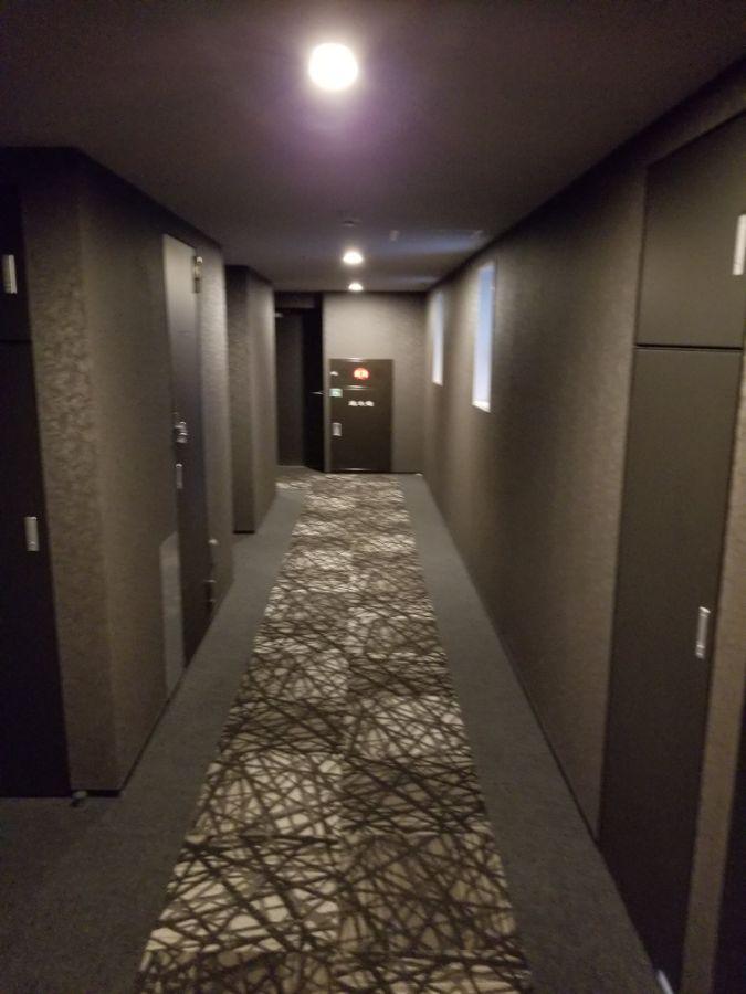 パークアクシス築地 内廊下