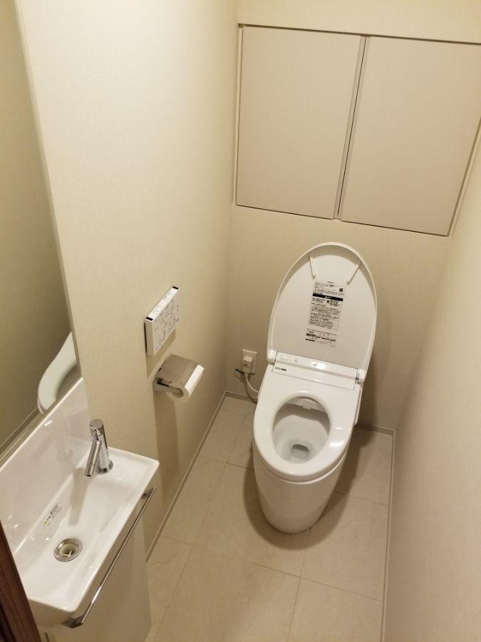 オープンレジデンシア麻布六本木 トイレ