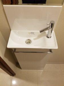 オープンレジデンシア麻布六本木 手洗いカウンター