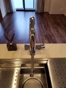 オープンレジデンシア麻布六本木 浄水器付き水栓