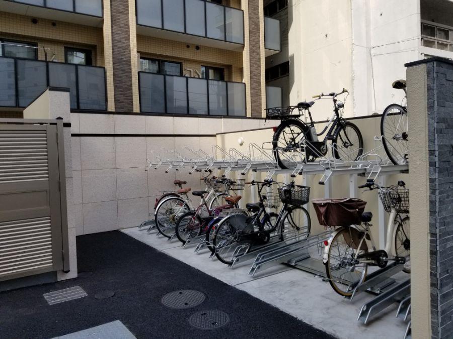 オープンレジデンシア麻布六本木 駐輪場