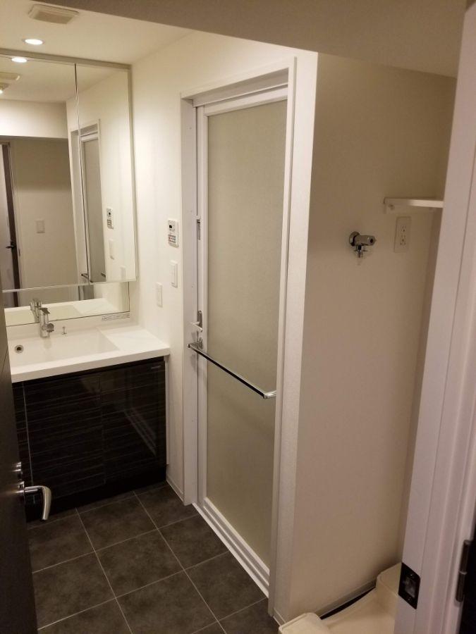 レシディア白金高輪Ⅱ 洗面室