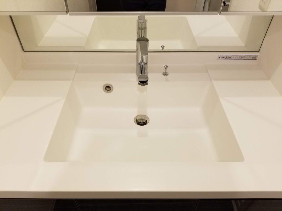 レシディア白金高輪Ⅱ 洗面台