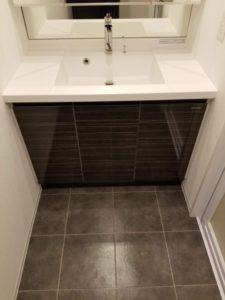レシディア白金高輪Ⅱ 洗面台下収納