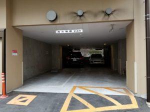 パークハビオ飯田橋 駐車場