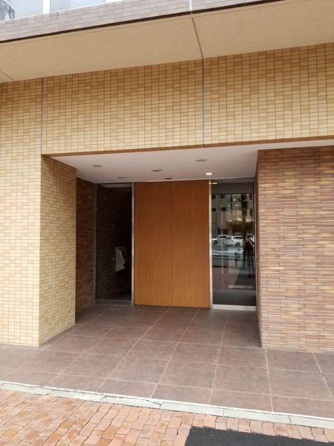 パークハビオ飯田橋 エントランス