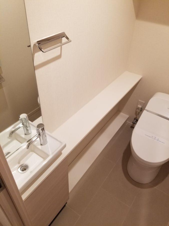 パークハビオ飯田橋 トイレ